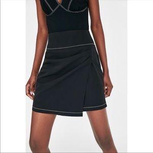 Mini Skirt with Stitching